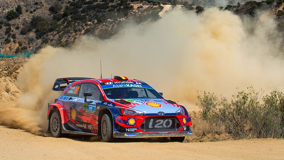 Hyundai Motor secures important points at Rallye Mexico