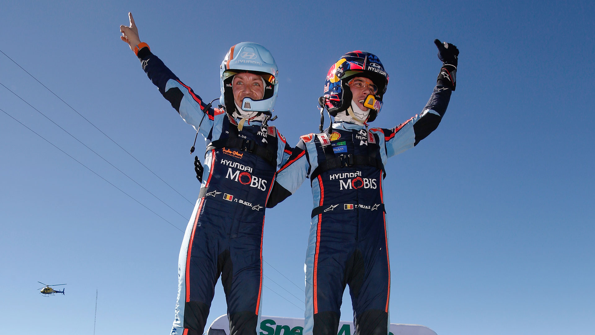 1-2 in Rally Argentina