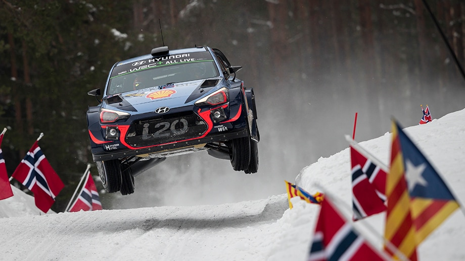 Hyundai Motorsport targets victory in Rally Sweden