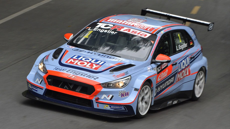 Double title success in TCR Asia