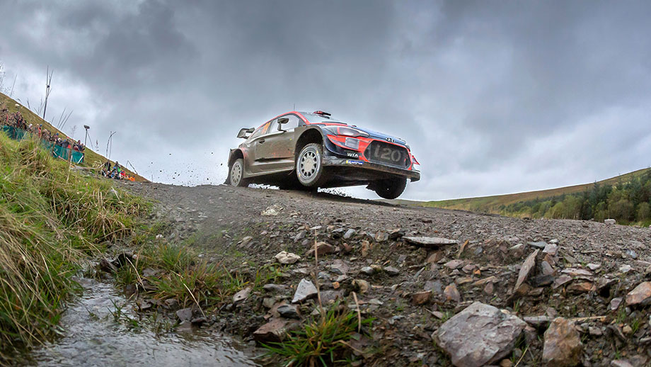 Strong second in Wales Rally GB